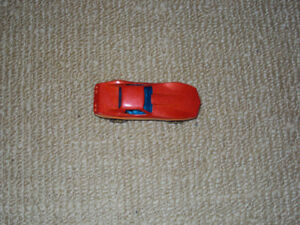 1980, HOT WHEELS, RED CORVETTE STINGRAY, DIECAST METAL CAR