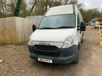 2012 iveco daily van 3.0 EXTRA LONG WHEEL BASE HIGH ROOF NO VAT