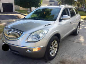 2008 Buick Enclave E-tested SUV, Crossover