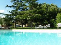 Sempember or October holiday in Tuscany with swimming pool