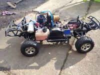 Traxxas Slayer Pro 4x4 Nitro Rc Car Very Fast