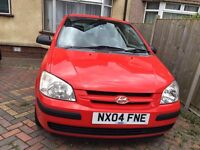 Hyundai Getz 1.3 great condition long Mot