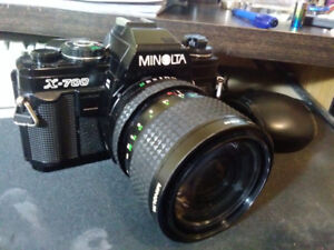 MINOLTA X700 MPS film camera with 35_70 mm 1:3.5 lens