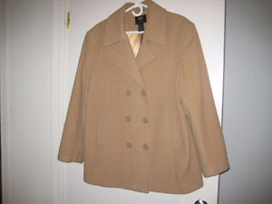 ONLY WORN ONCE - CAMEL COLORED JACKET