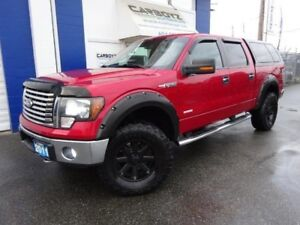 "2011 Ford F-150 XLT XTR Crew 4x4, LIFTED, 35""Tires, Flares"