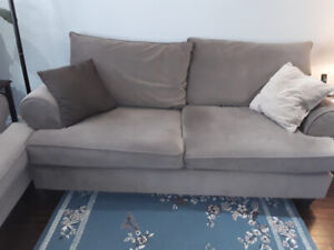 Used sofa and loveseat... In extremely great condition