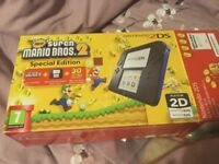 Nintendo 2ds and mario kart game