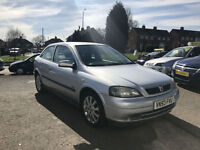 2003 VAUXHALL ASTRA TWIN-PORT 1.6i 16v SXI + START AND DRIVE WELL