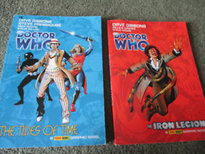 Doctor Who Graphic Novels set of two