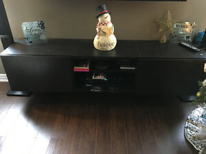 Wall mounted tv unit from IkEA Cambridge Kitchener Area image 1