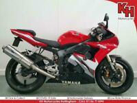 Yamaha R6 Red 2007 - Micron Exhaust, RandG, Datatool System 4 Alarm