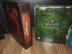 Warhammer online CE and World of Warcraft Burning Crusade CE