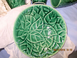 Jade Leaves Pier 1 Imports  8 Pcs. Setting  **Reduced AGAIN** London Ontario image 4