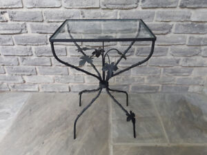 Small Ornate Accent Table