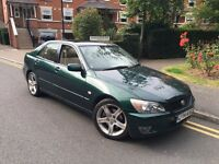 2004/04 REG LEXUS IS 200 SE 6SPEED A/C LEATHER CHEAP £1495
