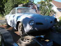 1968 karman gia project car parts or complete as is