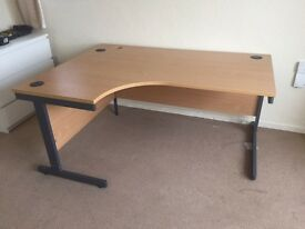 Left Hand Corner Office Table
