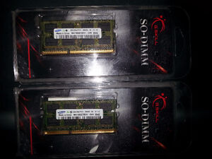 4 GB Laptop Memory - 2 x 2GB PC3