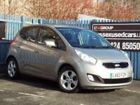 KIA VENGA 3 SAT NAV 2013 1591cc Petrol Automatic