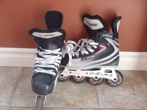 Bauer Youth Size 5 Roller Blades - Great Christmas Gift