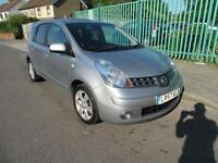 2007 NISSAN NOTE TEKNA 1.6L 16V AUTOMATIC PETROL 5 DOOR HATCHBACK