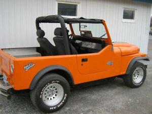 jeep  échange camion traileur 4 roues et autre fait ton offre