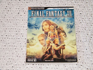 Strategy Guide Final Fantasy 12 XII Signature Series avec POSTER
