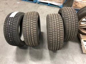 """DUNLOP 19"""" 245/45/R19 WINTER TIRES! 3 USED FOR 1 SEASON, 1 NEW!"""