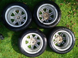 VW alloy wheels (185/60 R14)