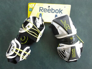 10K REEBOK size MED. Lacrosse elbow guards retail $129 now $40