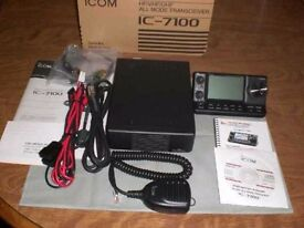 Icom IC-7100 boxed mint condition