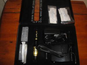 PERMANENT MAKE-UP EYEBROW/LIPS TATTOO MACHINE KIT BRAND NEW $120