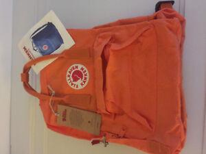 Orange Fjallraven Kanker back pack (small)