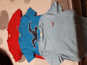 3 hollister tshirts mens small