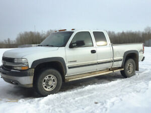 2001 Chev 2500 3/4 ton Extended Cab 4X4