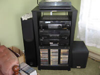 Stereo System  - to play music and movie surround sound