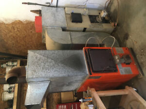 Hunter Wood and Oil Furnace for Sale
