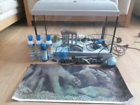 Fish tank, approx 65 l. collection only - NN3