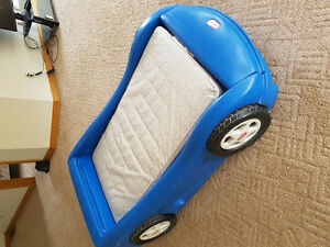 Toddler race car bed - little tykes