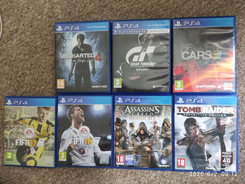 Ps4 8 Games Bundle In York North Yorkshire Gumtree