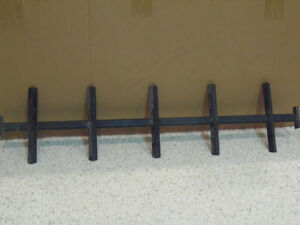 Set of 3 cast iron solid basement window security bars! London Ontario image 2