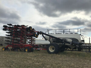 3710 Bourgault air drill with cart