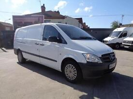 MERCEDES-BENZ VITO 2.1 | 113 CDi | BLUE-EFFICIENCY | EXTRA LONG | 1 OWNER | 2012