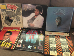 Mixed Lot of 24 Vinyl Records For Sale - $60 for all of them
