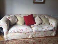 Duresta Grand Sofa Shabby Chic