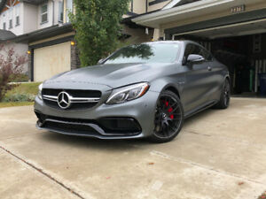 2018 Mercedes-Benz C 63 S AMG Coupe