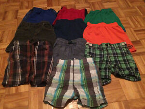 10 pairs of size 2 toddler boys shorts for only $20! Pu Dieppe.