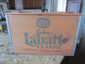 Labatt Classic Special Edition with Wood Case - Numbered Peterborough Peterborough Area image 1