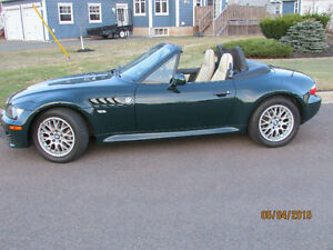 1999 BMW Z3 British Traditional Exclusive Edition Convertible