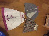 Beautiful age 2-3 girls clothes bundle